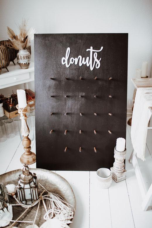 Boho Hochzeit Boho Wedding Donut Wall