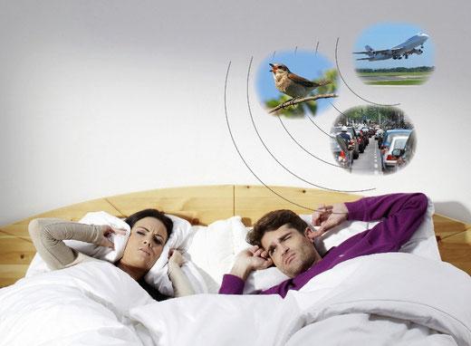 Endlich durchschlafen trotz Morgenlärm. Geniales Lüften in der Nacht trotz Pollenallergie.