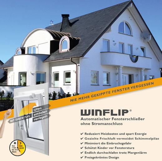 Komfort - Sicherheit - Geld sparen - Einfach mehr Lebensqualität für die ganze Familie mit WINFLIP