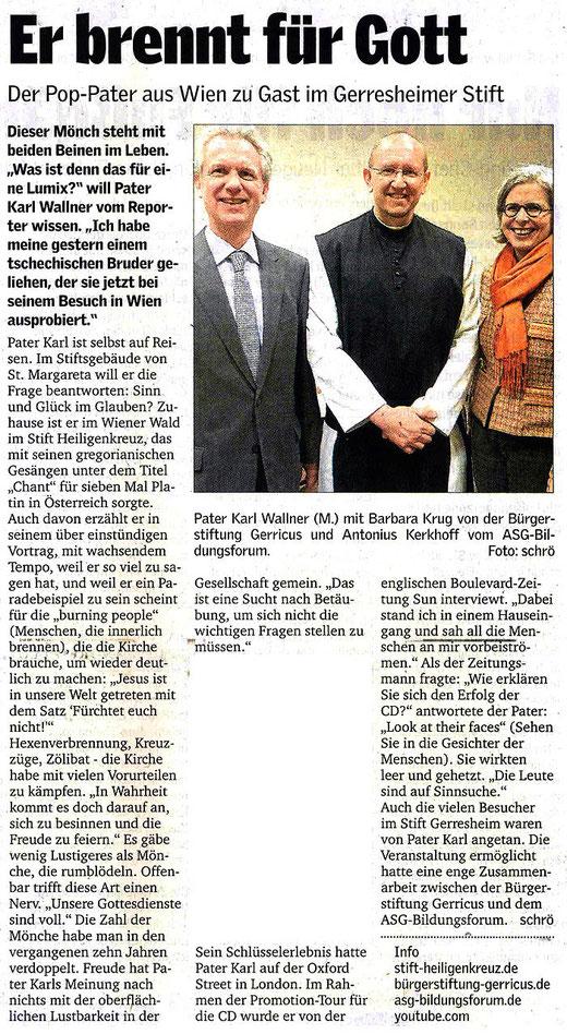 Düsseldorfer Anzeiger, 08.2011
