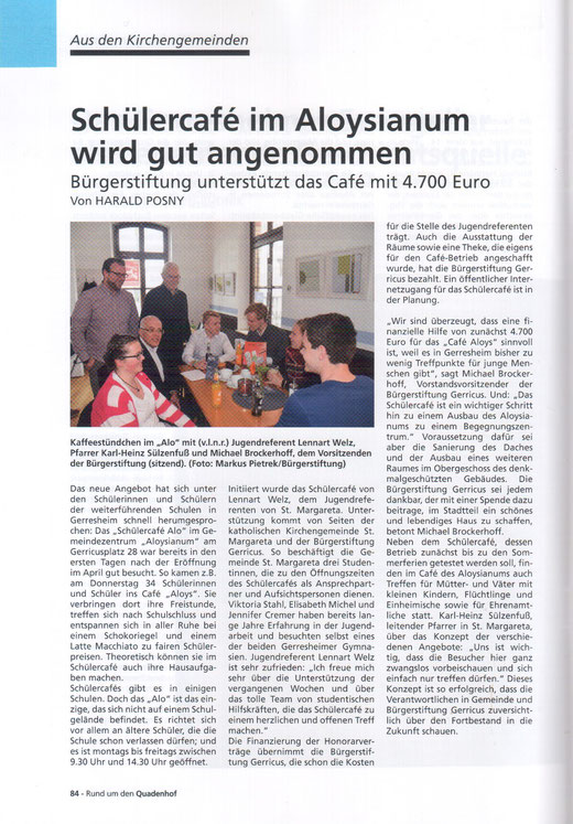 Rund um den Quadenhof, Ausgabe Sommer/Winter 2016
