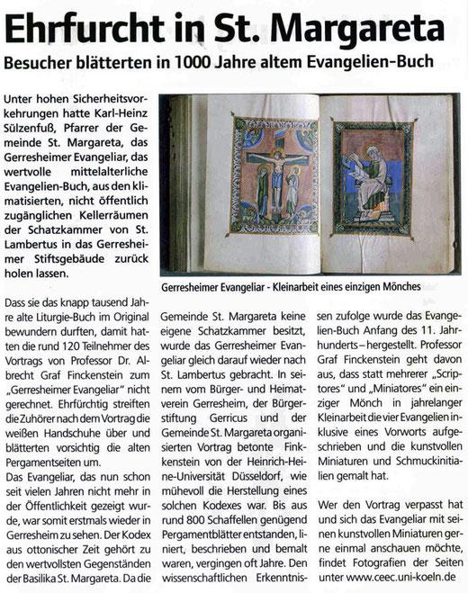 Der Gerresheimer, 27.05.2011