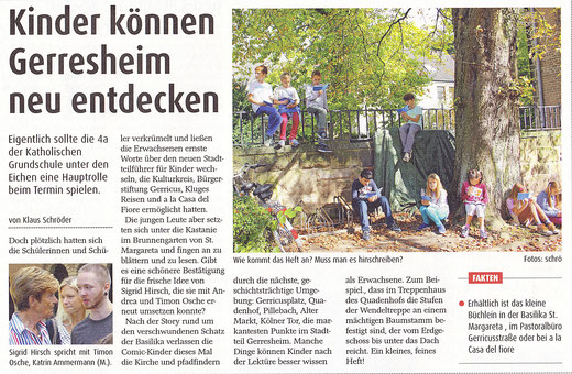 Oktober 2014, Der Gerresheimer