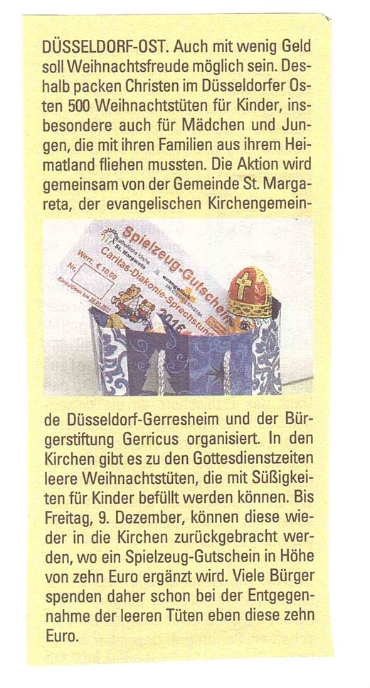 Kirchenzeitung, 2. Dezember 2016