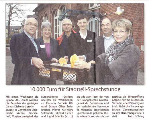 19.11.2014, Rhein-Bote