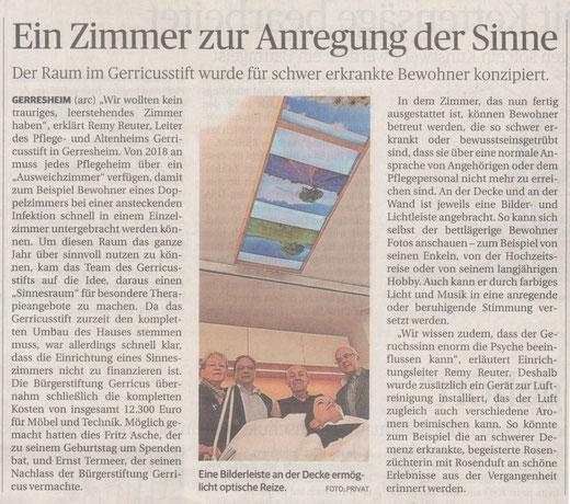 Rheinische Post, 16.12.2015