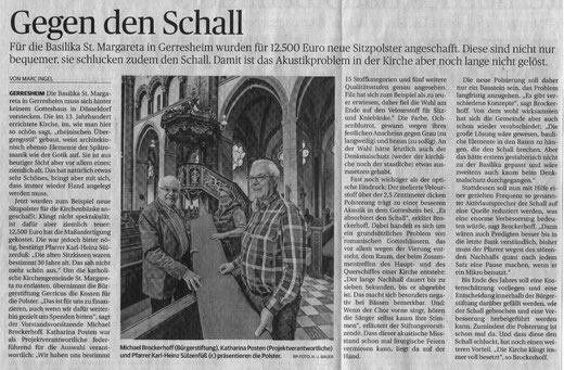 Rheinische Post, 25. Mai 2016