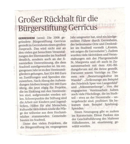 Rheinische Post, 1.9.2015