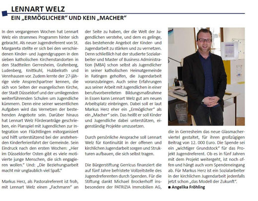 Forum Katholikenrat Düsseldorf, Ausgabe 51, Juni 2015