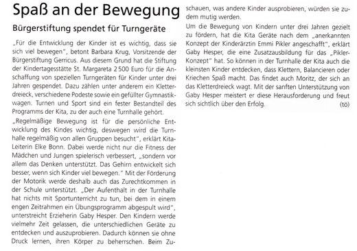 08/2014, Gerresheimer Gazette