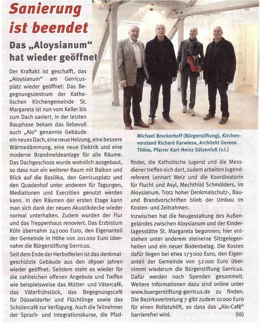 Gerresheimer Gazette, Ausgabe 12/2016