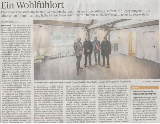 Rheinische Post, 28. Oktober 2016