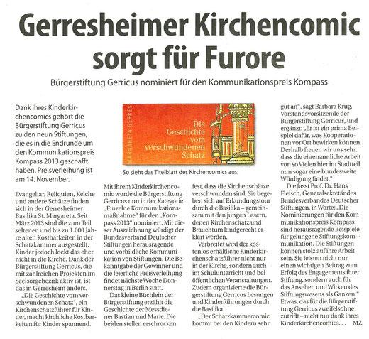 06.11.2013, Rhein-Bote