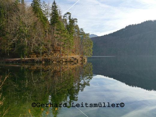Wanderung entlang des Hechtsee