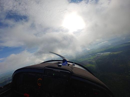 Fliegen-> ein realisierter Traum von mir