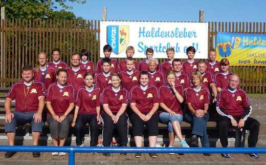 Die Trainer, Betreuer und Junior-Betreuer 2012 !