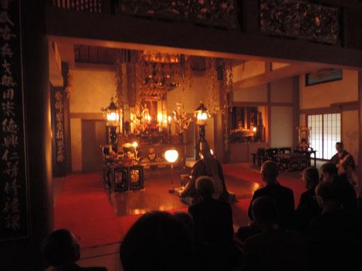 茨木市浄土宗大念寺のお十夜法要
