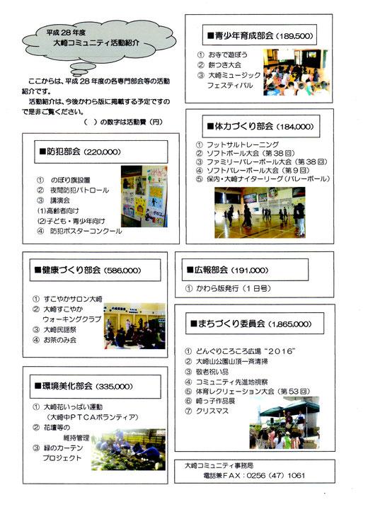 28年度部会活動紹介
