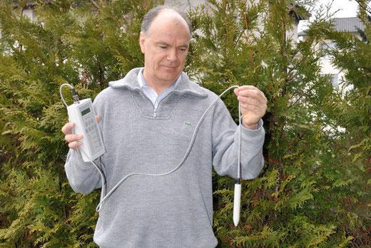 Thomas Sigrist  -  Inhaber vom Institut für Erdstrahlen und Elektrosmog IFEE