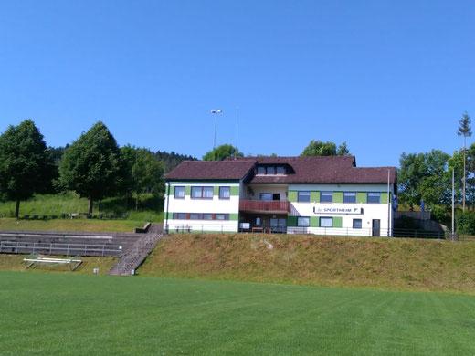 Sportheim des SC Markt Heiligenstadt