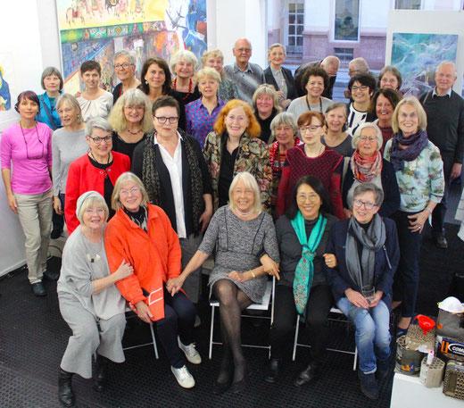 GEDOK Galerie, GEDOK Heidelberg, 80. Geburtstag Dorthea Paschen