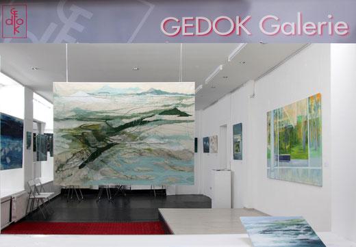 Ausstellung , GEDOK Heidelberg, GEDOK Galerie, Sabine Friebe-Minden, Christel Fahrig Holm