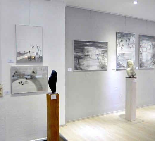 Ausstellung , GEDOK Heidelberg, GEDOK Galerie, Barbara Brink, Katja Hess