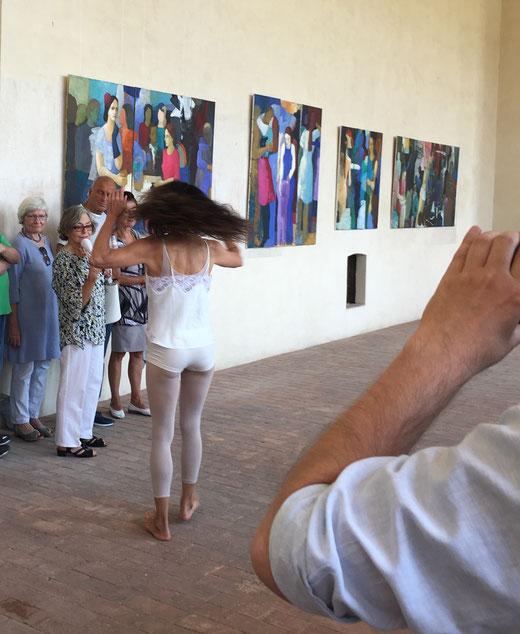 Performance Johanna Schimka, Bilder Agnes Pschorn