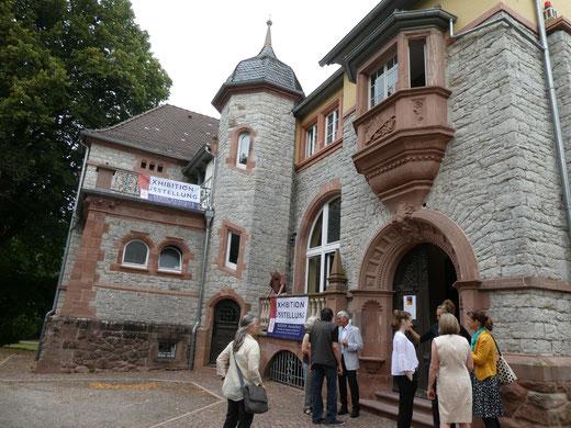Vernissage Villa Menzer Neckargemünd 90 Jahre GEDOK Heidelberg 2019