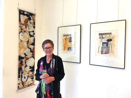 Sabine Siegmeyer, Seidenmalerei und Mischtechniken