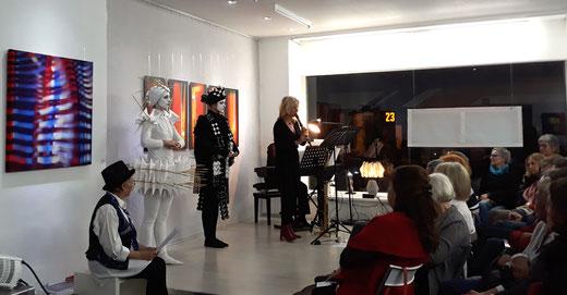 100 Jahr Bauhaus Oktober 2019,  GEDOK Galerie, GEDOK Heidelberg