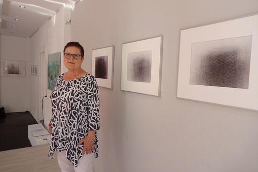 Elsa Becke, Ausstellung LandArt, RNZ 2018