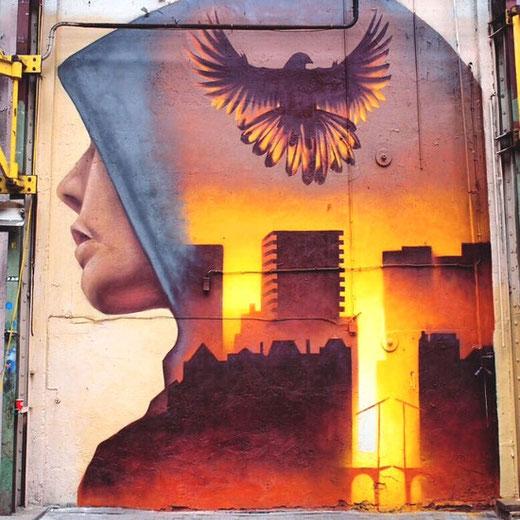 Martin Trevers / Amsterdam (@streetartmagic / twitter.com)