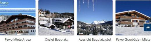 Chalet Bauen Graubunden Skifahren Schweiz