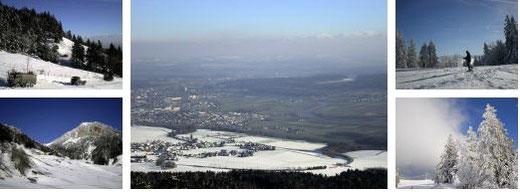 schneeschuhtouren winterwandern jura