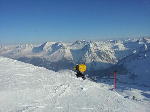 Tip: Arosa - Davos - Lenzerheide Skitouren mit kurzen Aufstiegen und super Abfahrten