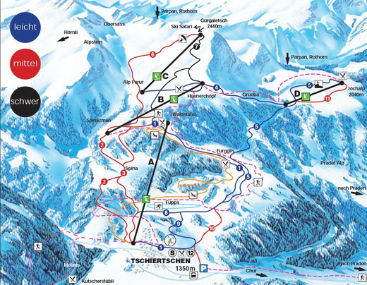 skigebiet graubünden chur