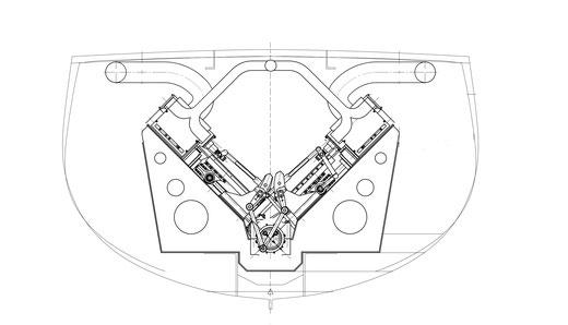 Offertplan der neuen Maschine für das «Spiezerli» (DLM)