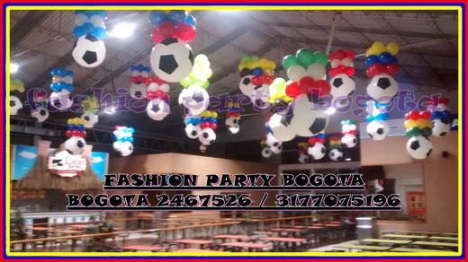 Decoracion en globos mundial fashion party decoracion en for Almacenes decoracion bogota