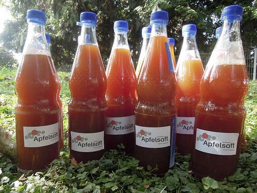 Apfelsaft Wartbergschule Friedberg