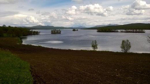 ein Paradies für Fischer - nicht für Udo