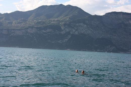 das war gestern im Gardasee