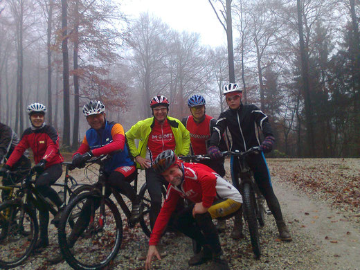 MTB-Trainingsgruppe am 24.11.2014