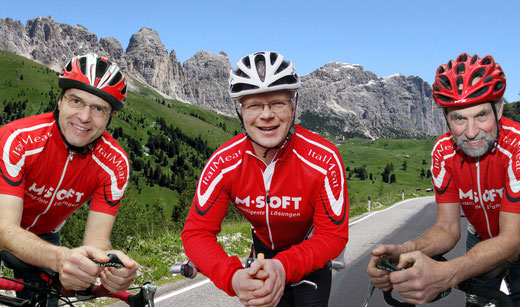 mit Hubert über die Alpen