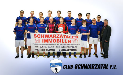 Club Schwarzatal F.V. mit Sponsor Schwarzataler Immobilien