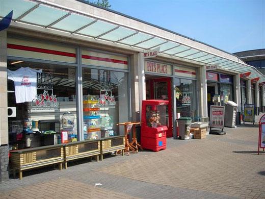 Ein Zoofachgeschäft in Nimwegen, Niederlande