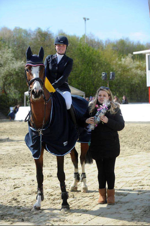 Foto: Leonie und Lamborghini (Ludwigs As x Lancer II)
