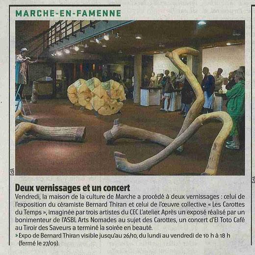 L'Avenir du Luxembourg, septembre 2012