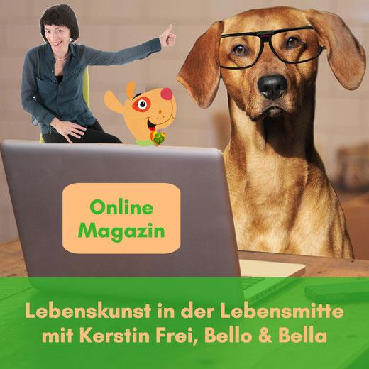 Herausgabe Zeitung zu Themen Ü50 und Hundeliebe