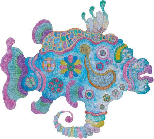 紋々柄々魚・メス